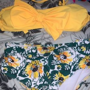 Sunflower Swim suit